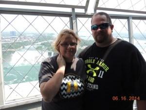 Kissing Big Daddy Under the American Falls at Niagara