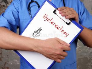 So I had a Hysterectomy