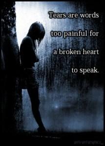 Overwhelming Sadness