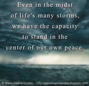 Peace in the Midst of the Storm