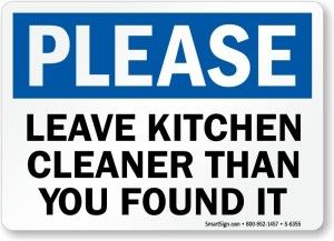 Deep Clean the Kitchen